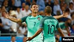 Ronaldonun qələbə sevinci