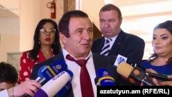 Лидер ППА Гагик Царукян, Ереван, 7 мая 2019 г.
