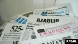 Azerbaijan -- Newspapers