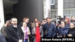 Pamje nga protesta në Banja Llukë