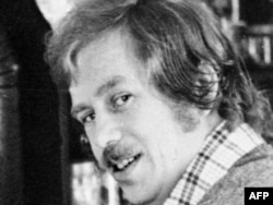 Vaclav Havel at his cottage in Hradecek in the early 1970s
