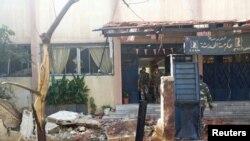 Pamje nga shpërthimet në Homs të Sirisë
