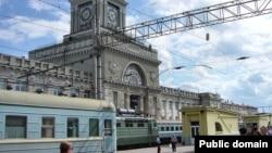 Stacioni hekurudhor në Volgograd të Rusisë