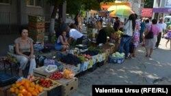 La piaţa din Cahul