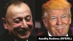 İlham Əliyev və Donald Trump (kombo foto)