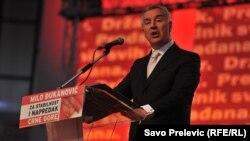 Фаворитом президентської гонки є висуванець владної Демократичної партії Міло Джуканович