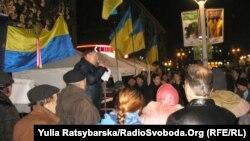 Під час подій Євромайдану у Дніпропетровську, архівне фото