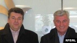 Milorad Živković i Beriz Belkić u zgradi RSE