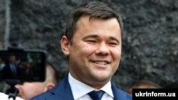 Голова Офісу президента Андрій Богдан