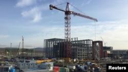 Строящаяся в Севастополе электростанция