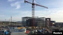 Электрастанцыя, якая будуецца ў Сэвастопалі