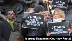 "На ""Марше солидарности"" в Париже"