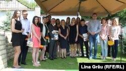 Bursieii programului DAAD pentru acest an de studii, care își vor face studiile în Germania
