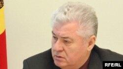 Vladimir Voronin în cursul unui interviu cu Europa Liberă (2006)