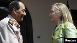 Husein Tantavi i Hilari Klinton u Egiptu