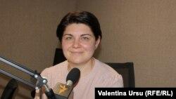 Natalia Gavriliţă, fostă ministră a finanţelor