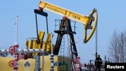 """Rosneft"" kompaniýasynyň ""Samotlor"" nebit ýatagy, Nižnewartowsk, 26-njy ýanwar, 2016"