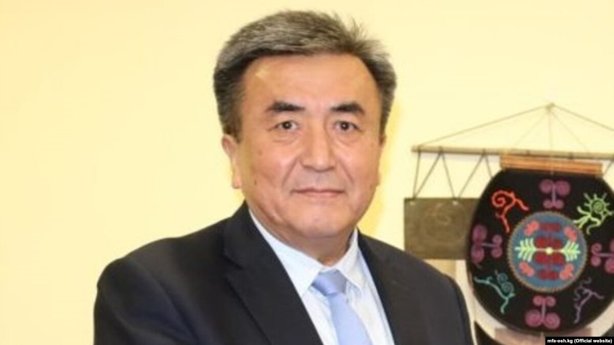 Kyrgyz President-Elect's Brother Appointed Ambassador To Ukraine