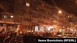 La protestul antiguvernamental de la Alba Iulia