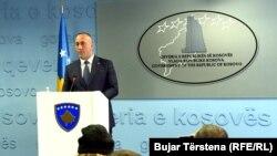 Kryeministri i Kosovës Ramush Haradinaj