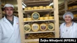 Sir za Zlatni kolut: Minka Orman i Sead Čaušević
