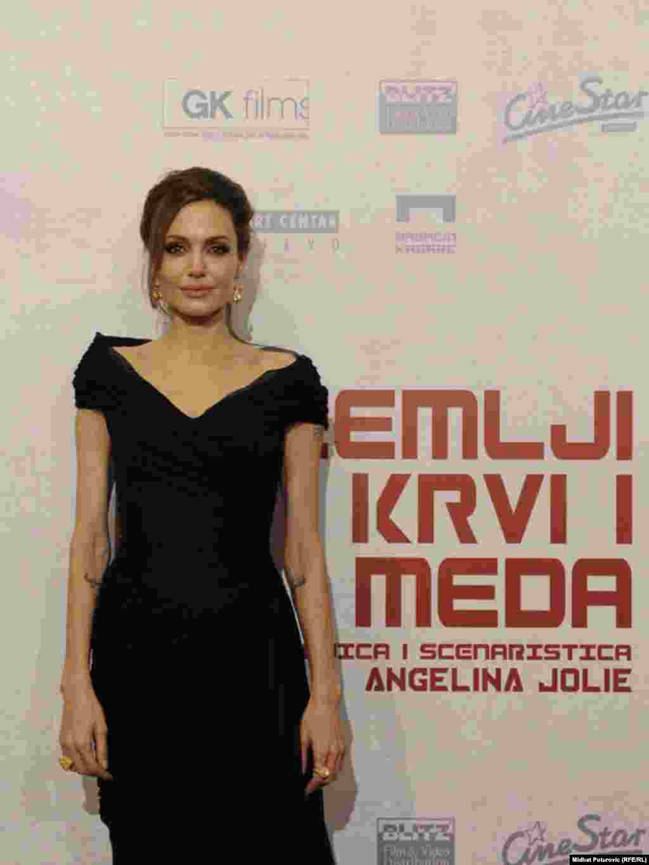 Holivudska glumica na crvenom tepihu u Sarajevu