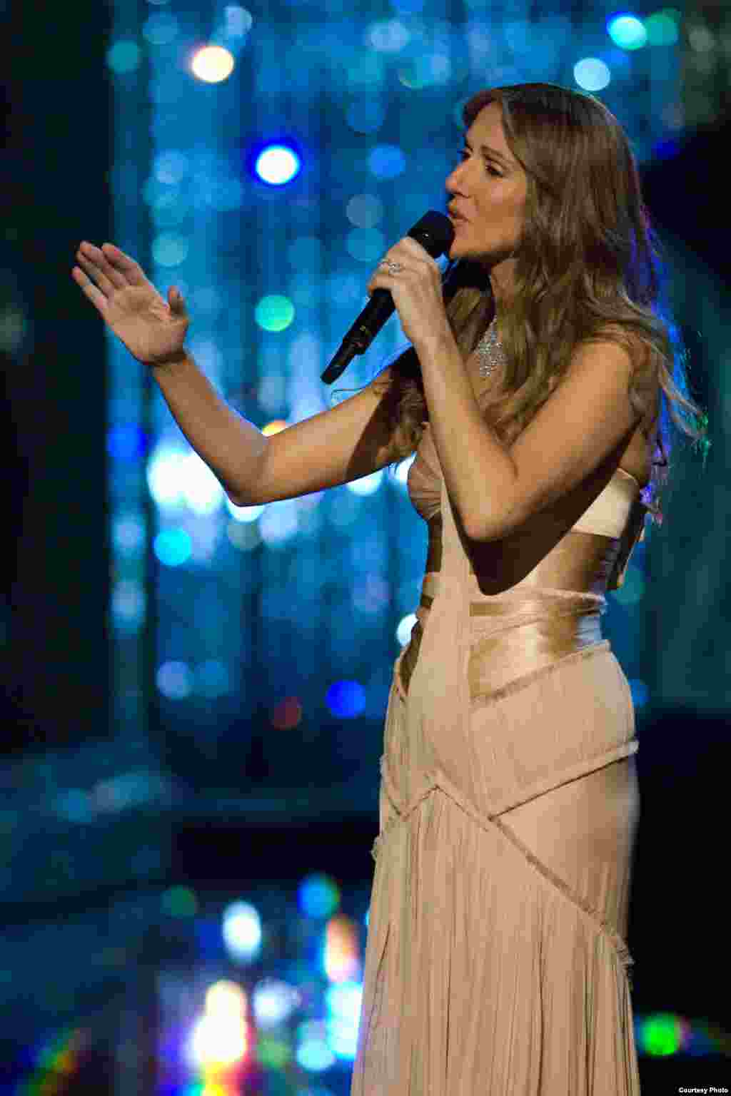 «سلین دایان» خواننده محبوب بیش از هفتاد میلیون ایرانی در سراسر جهان!
