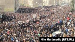 من تظاهرات بورسعيد