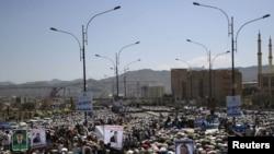 Похороны погибших участников антиправительственных демонстраций, Сана, 21 сентября