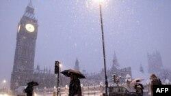 Лондон в снегу