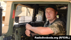 Олексій Швець, водій Донецького прикордонного загону