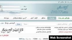 Қытай қазақтарының kultegin.com сайтының скриншоты. (Көрнекі сурет)