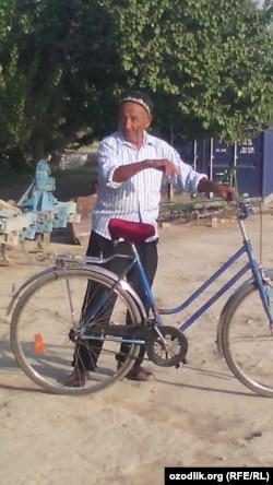 Ҳусан бобо Намангандан Самарқандгача велосипедда 5 кун юради