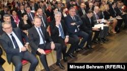 Većina dosadašnjih sastanaka bh. političara završavala je bez konkretnih dogovora i rješenja: Lideri vodećih stranaka u BiH na skupu o mogućim promjenama Dejtonskog sporazuma, novembra 2015. u Mostaru