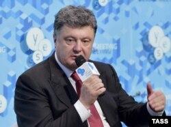 Петро Порошенко під час 11-ї «Ялтинської європейської стратегії»