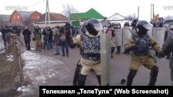 "Tula regionynyň Plehanowo şäheri, ""TeleTula"" TW-siniň wideosyndan pursat,17-nji mart, 2016."