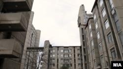 "Реновирани блокови В и Г во студентскиот дом ""Гоце Делчев"" - Скопје"