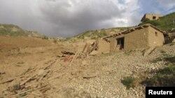 Pamje pas tërmetit në provincën Baghlan në Afganistan