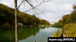 Одно из озер урочища Пятая балка