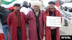 Eýranly türkmenler Eýrandaky hukuk bozulmalaryna protest bildirýär. Ženewa.