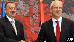 İlham Əliyev və Boris Tadiç, 8 iyun 2011