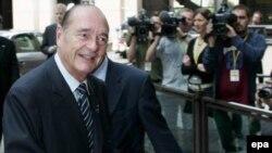 Прехидент Франци Жак Ширак призывает Израиль действовать как можно осторожнее
