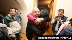 PHOTOGALLERY: Azeri Lawyer Intigam Aliyev Released From Jail (RFE/RL Azerbaijani Service)