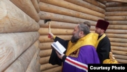 Джанкойда христиан гыйбадәт йорты төзелеше