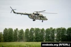 Новы самалёт на ўзбраеньні беларускага войска