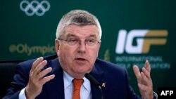Халықаралық олимпиада комитетінің президенті Томас Бах.