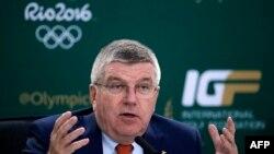 Presidenti i Komitetit Olimpik Ndërkombëtar, Thomas Bach.