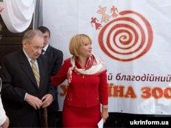 Юрий Шухевич и Екатерина Ющенко. Львов, 2009