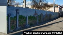 Рисунок Артема Линькова «Владимирский собор в Херсонесе»