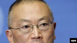 Acting WHO Director-General Keiji Fukuda